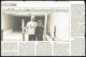 Beer-Paper-LA_Framed