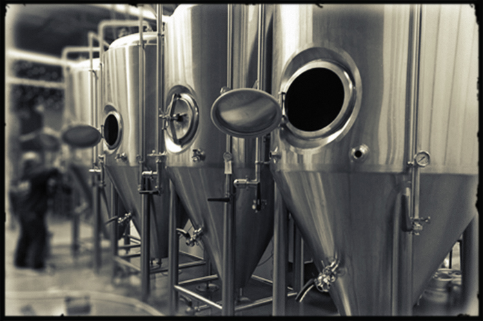 Beer Tanks, Brewyard-Beer, Beer Company