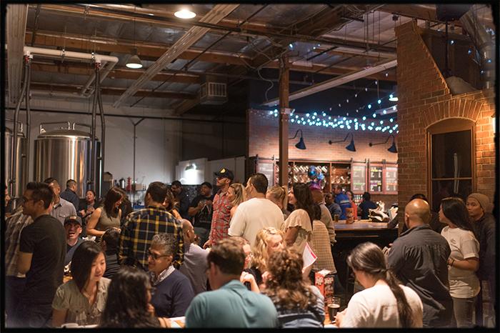 brewyard tap room